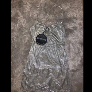 DOLLSKILL Silver Dress